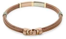 Alor 18K Yellow Gold Detail Cable Bracelet