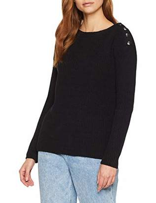 2a73c898388 Tom Tailor Casual Women s Strickpullover Mit Knopfdetails Jumper