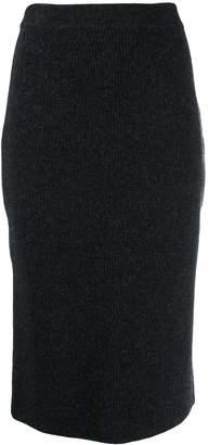 Pringle Ribbed Pencil Skirt