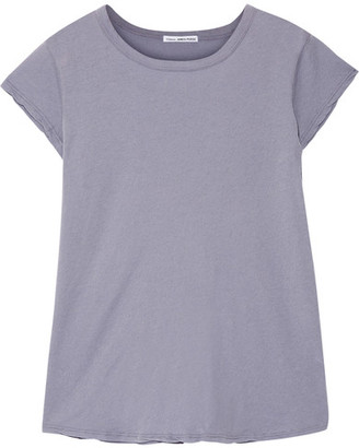 James Perse - Brushed Cotton-jersey T-shirt - Lavender $95 thestylecure.com