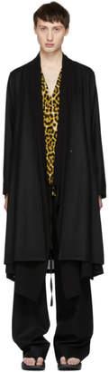 SASQUATCHfabrix. Black Layered Coat