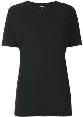 Paige long classic T-shirt