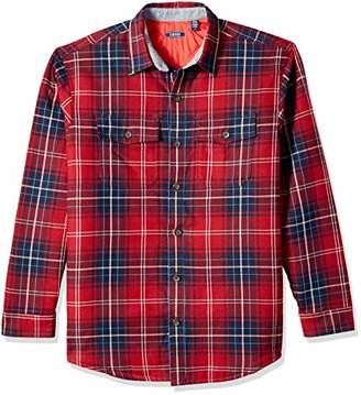 Izod Men's LS Shirt Jacket
