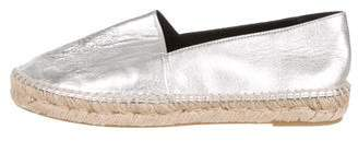 Kenzo Metallic Leather Espadrilles