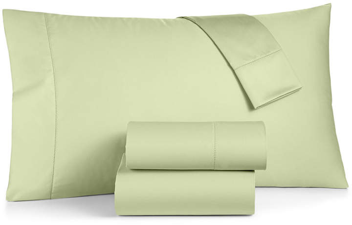 Closeout! Damask Twin 3-Pc Sheet Set, 550 Thread Count 100% Supima Cotton, Created for Macy's Bedding