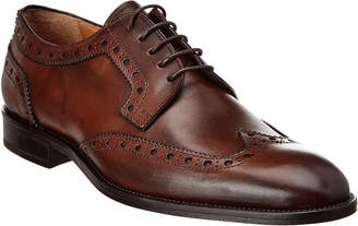 Gordon Rush Italy Leather Wingtip Oxford