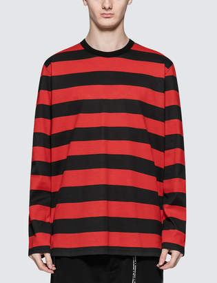 Mastermind World Stripe L/S T-Shirt
