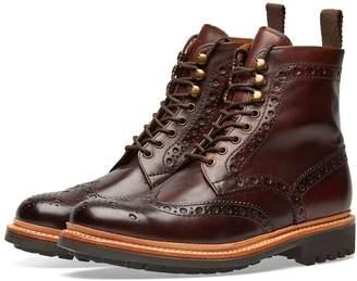 Grenson Fred Commando Sole Brogue Boot