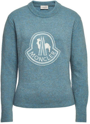 Moncler Pullover with Virgin Wool
