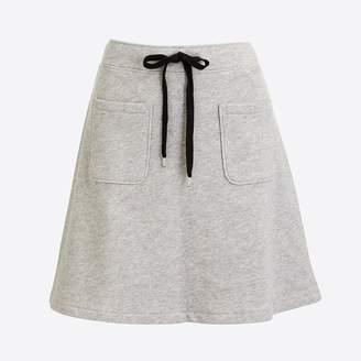 J.Crew Factory Cotton terry mini skirt
