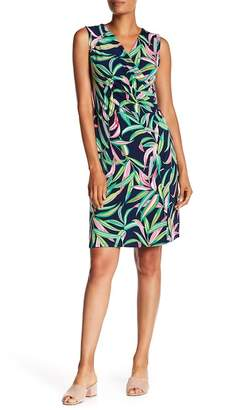 Tommy Bahama Lucky Bamboo Sleeveless Faux Wrap Dress