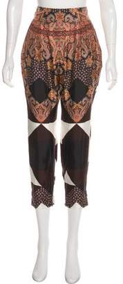 Givenchy Silk Printed Pants