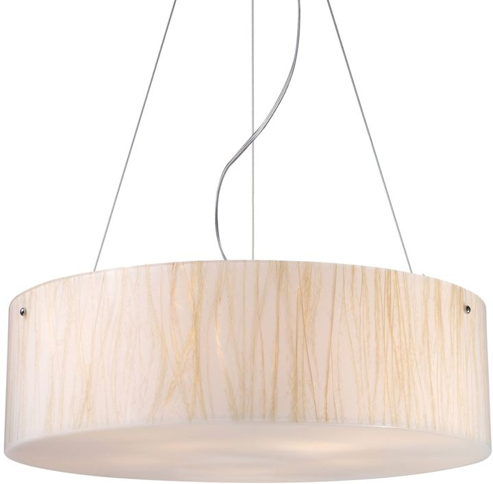 Bed Bath & Beyond ELK Lighting Modern Organics 5-Light Pendant in White