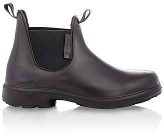 Barneys New York Men's Rubber Chelsea Boots