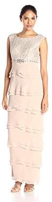 Jessica Howard Women's Cap Sleeve Artichoke Skirt Dress $148 thestylecure.com