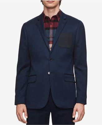 Calvin Klein Men's Patch Pocket Slim-Fit Blazer