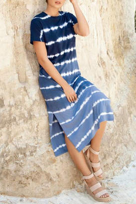 Mud Pie Grayson Midi T-Shirt-Dress