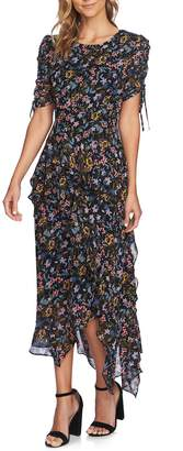 CeCe Tiered Ruffle Maxi Dress