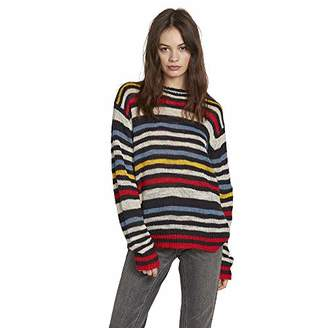 00afb2ada99 Volcom Women s Bowrain Oversized Crewneck Sweater