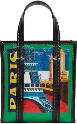 Balenciaga Multicolor XS Paris Bazar Tote