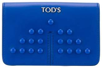 Tod's small studded coin purse