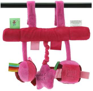 Vital Innovations Label-Label LL-ST1151 Car Seat Toy Pink/Fuchsia