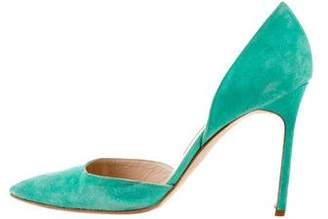 Manolo Blahnik Pointed-Toe d'Orsay Pumps