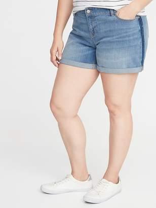 59259bdbd7 Old Navy Plus-Size Boyfriend Denim Shorts - 5-inch inseam