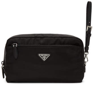 Prada Black Cosmetic Pouch