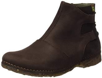 El Naturalista Women's N917 Pleasant Brown/Angkor Ankle Boots