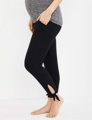 A Pea in the Pod Beyond The Bump Keep It Easy Fold Over Belly Maternity Jogger Pant