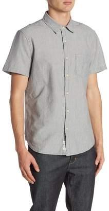 Lucky Brand Short Sleeve Woven Shirt