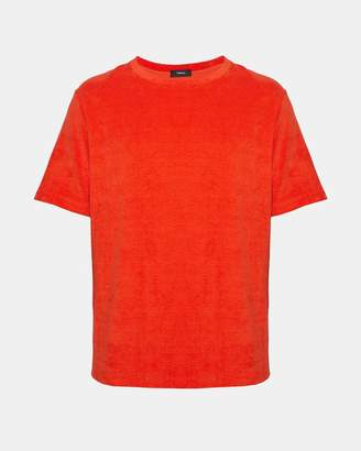 Theory Cotton Terry Structure Tee