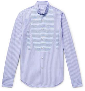 Loewe Slim-Fit Wing-Collar Linen And Cotton-Poplin Shirt