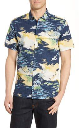 Tori Richard Archipelago Regular Fit Seersucker Shirt