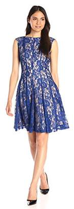 Julian Taylor Women's Lace Fit-and-Flare Dress