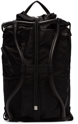 Y/Project leather-trimmed backpack