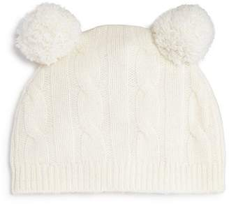 Bloomingdale's Bloomie's Unisex Cashmere Double Pom-Pom Hat, Baby - 100% Exclusive