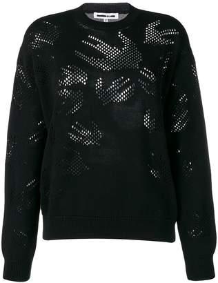 McQ Swallow knit jumper