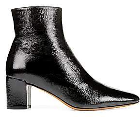Vince Women's Lanica Patent Leather Ankle Boots
