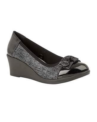 Lotus Zetta Wedge Slip-On Shoes
