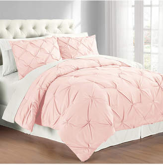 Cathay Home Inc. Premium Collection King Pintuck Bedding Comforter Set Bedding