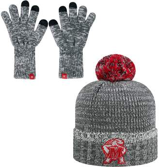 Top of the World Adult Maryland Terrapins Frostbite Beanie & Glove Set