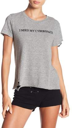 Wildfox Couture Crew Neck Distressed Shirt