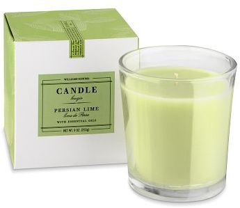 Williams-Sonoma Essential Oils Boxed Candle, Persian Lime