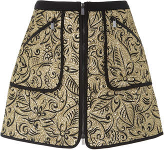 Michael Kors Floral Mini Surf Skirt