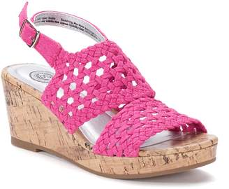 So SO Entertainer Girls' Wedge Sandals