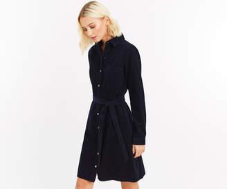 Oasis CORD WESTERN SHIRT DRESS