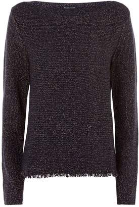 Eileen Fisher Fringe Edge Sweater
