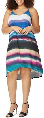 Wilson Rebel x Angels Plus Watercolor Stripe Cami Dress
